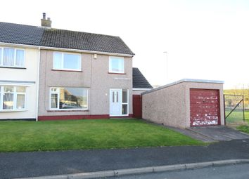 Thumbnail 3 bed semi-detached house for sale in Goldsmith Road, Egremont, Cumbria