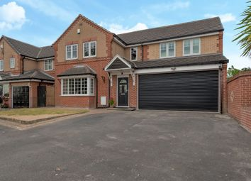 Thumbnail 4 bed detached house for sale in Martingale Drive, Leeds