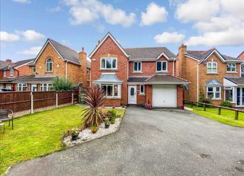 Thumbnail 4 bed detached house for sale in Prestbury Close, Widnes