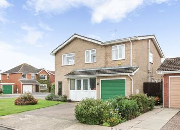 Thumbnail 4 bedroom detached house for sale in St. Pega Close, Crowland, Peterborough
