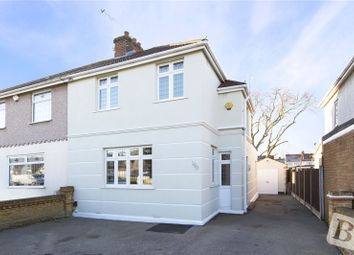 Thumbnail 3 bedroom semi-detached house for sale in Southend Arterial Road, Hornchurch