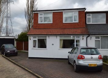 Thumbnail 4 bedroom semi-detached bungalow for sale in Strangford Street, Radcliffe, Manchester