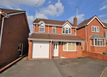 Thumbnail 3 bed detached house for sale in Rosemary Drive, Uttoxeter