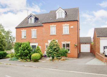Thumbnail 4 bed semi-detached house for sale in Poppyfields, Marehay, Ripley