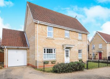 Thumbnail 3 bedroom detached house for sale in Woodruff Road, Thetford