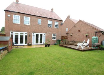 Thumbnail 4 bed detached house for sale in William Spencer Avenue, Sapcote, Leicester