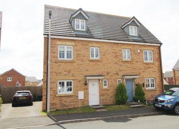 Thumbnail 4 bed semi-detached house for sale in Lonydd Glas, Llanharan, Pontyclun, Rhondda, Cynon, Taff.
