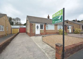 Thumbnail 2 bed semi-detached bungalow for sale in Cunliffe Close, Blackburn