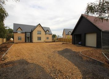 Thumbnail 4 bed detached house for sale in Northfield Road, Soham, Ely