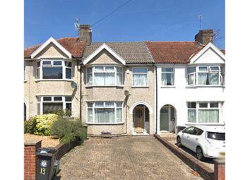 Thumbnail 3 bed terraced house for sale in Allison Road, Brislington