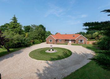 Thumbnail 3 bed detached bungalow for sale in Shelfanger Road, Roydon, Diss, Norfolk
