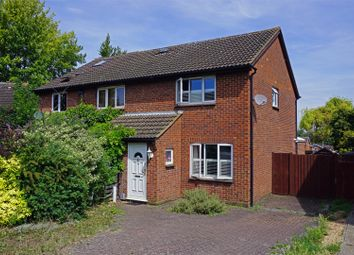 Thumbnail 2 bed semi-detached house for sale in Burns Close, Hitchin