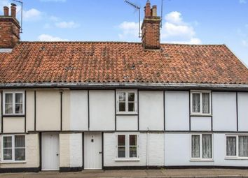 Thumbnail 3 bed terraced house for sale in The Street, Bramfield, Halesworth