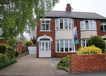 Thumbnail 3 bed semi-detached house to rent in Kingston Road, Willerby, East Yorkshire