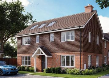 Thumbnail 4 bed detached house for sale in Barn Road, Longwick, Princes Risborough