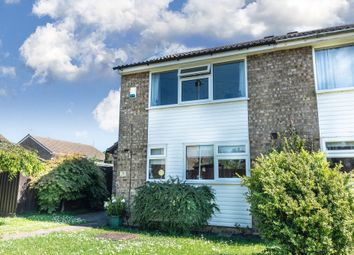 Thumbnail 2 bed semi-detached house for sale in Tennyson Avenue, St. Ives, Huntingdon