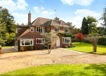 Thumbnail 4 bed detached house for sale in Sweet Lane, Peaslake, Guildford, Surrey