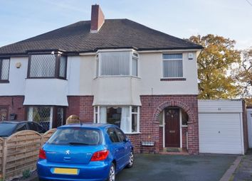 Thumbnail 3 bed semi-detached house for sale in Stanley Avenue, Sutton Coldfield