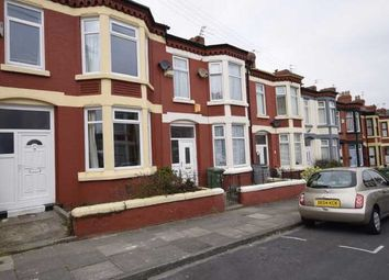 Thumbnail 3 bed terraced house to rent in Riversdale Road, Wallasey, Wallasey
