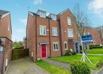 Thumbnail 4 bed town house for sale in Heathlea, Hindley Green, Wigan