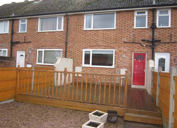 Thumbnail 2 bedroom terraced house to rent in Willow Crescent, Auckley, Doncaster