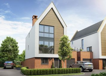 "Thumbnail 4 bedroom detached house for sale in ""Leighfield"" at William Morris Way, Tadpole Garden Village, Swindon"