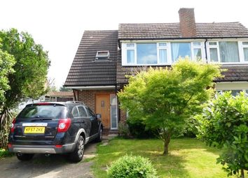 Thumbnail 4 bed semi-detached house for sale in Hunters Road, Chessington