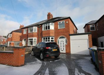 Thumbnail 3 bed semi-detached house for sale in Monksdale Avenue, Urmston, Manchester