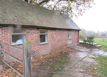 Thumbnail 1 bed detached bungalow to rent in Beech Green Lane, Withyham, Hartfield