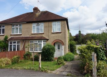 Thumbnail 3 bed semi-detached house for sale in Alvista Avenue, Maidenhead