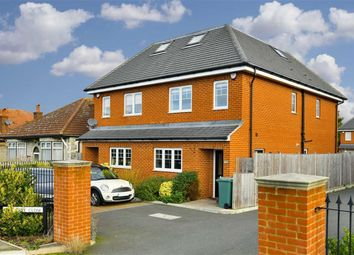 Thumbnail 4 bed semi-detached house for sale in Oak Tree Close, West Ewell, Surrey