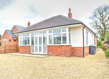Thumbnail 3 bed bungalow for sale in Leasingham Lane, Ruskington, Sleaford