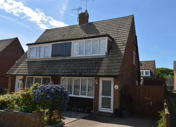 Thumbnail 2 bed semi-detached house for sale in Lesley Close, Bexhill-On-Sea