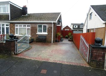 Thumbnail 2 bed semi-detached bungalow for sale in Heol Croesty, Pencoed, Bridgend