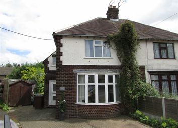 Thumbnail 3 bed semi-detached house for sale in The Crescent, Chapel-En-Le-Frith, High Peak
