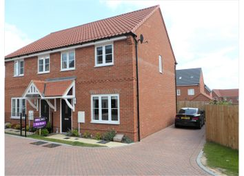 Thumbnail 3 bed semi-detached house for sale in Dulwich Avenue, Basildon