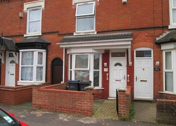 Thumbnail 2 bed terraced house for sale in Abbotsford Road, Sparkbrook, Birmingham