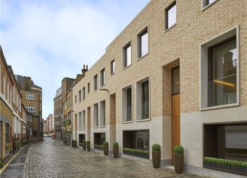 Townhouse 4, The London, 22D Beaumont Mews, Marylebone, London W1G. 4 bed mews house