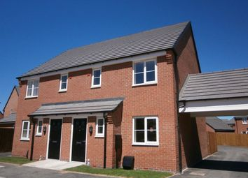 Thumbnail 3 bed semi-detached house to rent in Navy Close, Burbage, Hinckley