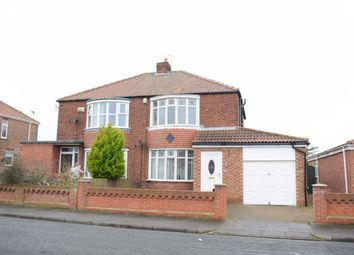 Thumbnail 3 bedroom semi-detached house for sale in Ventnor Avenue, Hartlepool