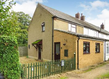 Thumbnail 2 bedroom end terrace house for sale in Low Road, Pentney, King's Lynn
