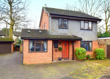Thumbnail 4 bed detached house for sale in Kingfisher Close, Farnborough