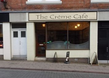 Thumbnail Retail premises for sale in Market Street, 3, Creme Cafe, Carlisle