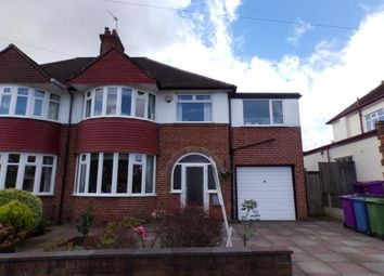Thumbnail 4 bed semi-detached house for sale in Childwall Park Avenue, Childwall, Liverpool, Merseyside
