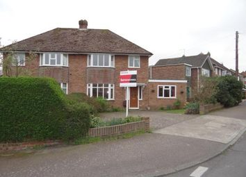 Thumbnail 4 bed semi-detached house for sale in Hillside Avenue, Canterbury, Kent