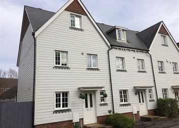 Thumbnail 4 bed town house for sale in The Squires, Pease Pottage, Crawley, West Sussex