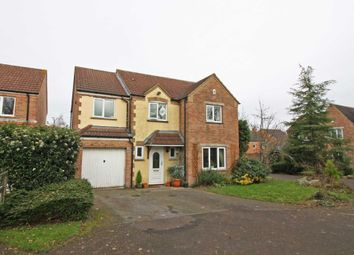 Thumbnail 4 bed detached house for sale in St. Hildas Close, Didcot