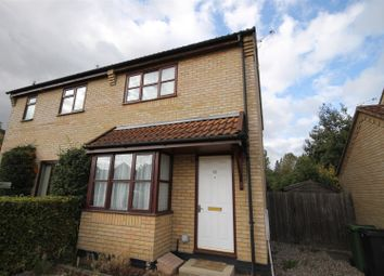 Thumbnail 2 bed semi-detached house to rent in Poppy Close, Loddon, Norwich