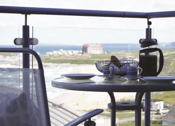 Thumbnail 3 bedroom flat for sale in Pentire Avenue, Newquay