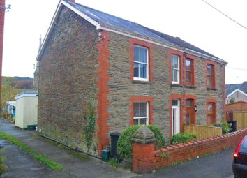 Thumbnail 3 bedroom semi-detached house for sale in Quarr Road, Pontardawe, Swansea.